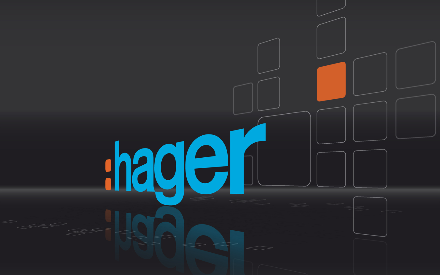 hager wallpaper diagonal black 1440x900